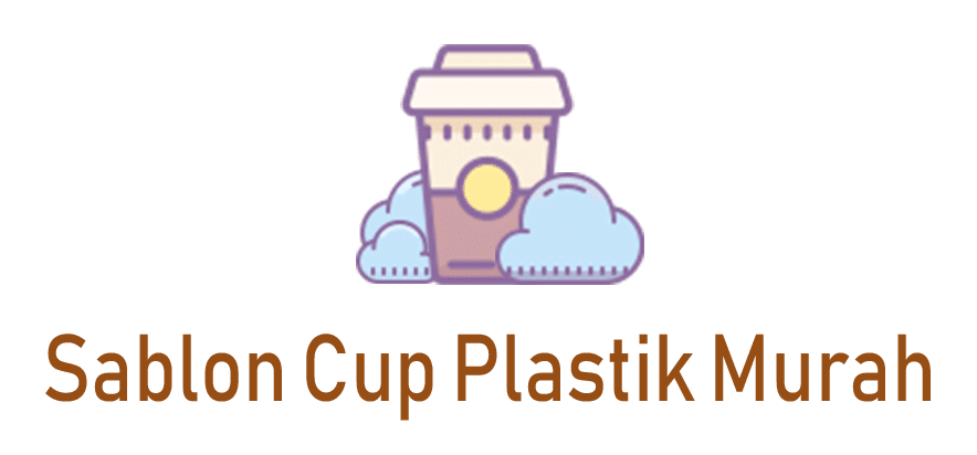 Sablon cup plastik murah