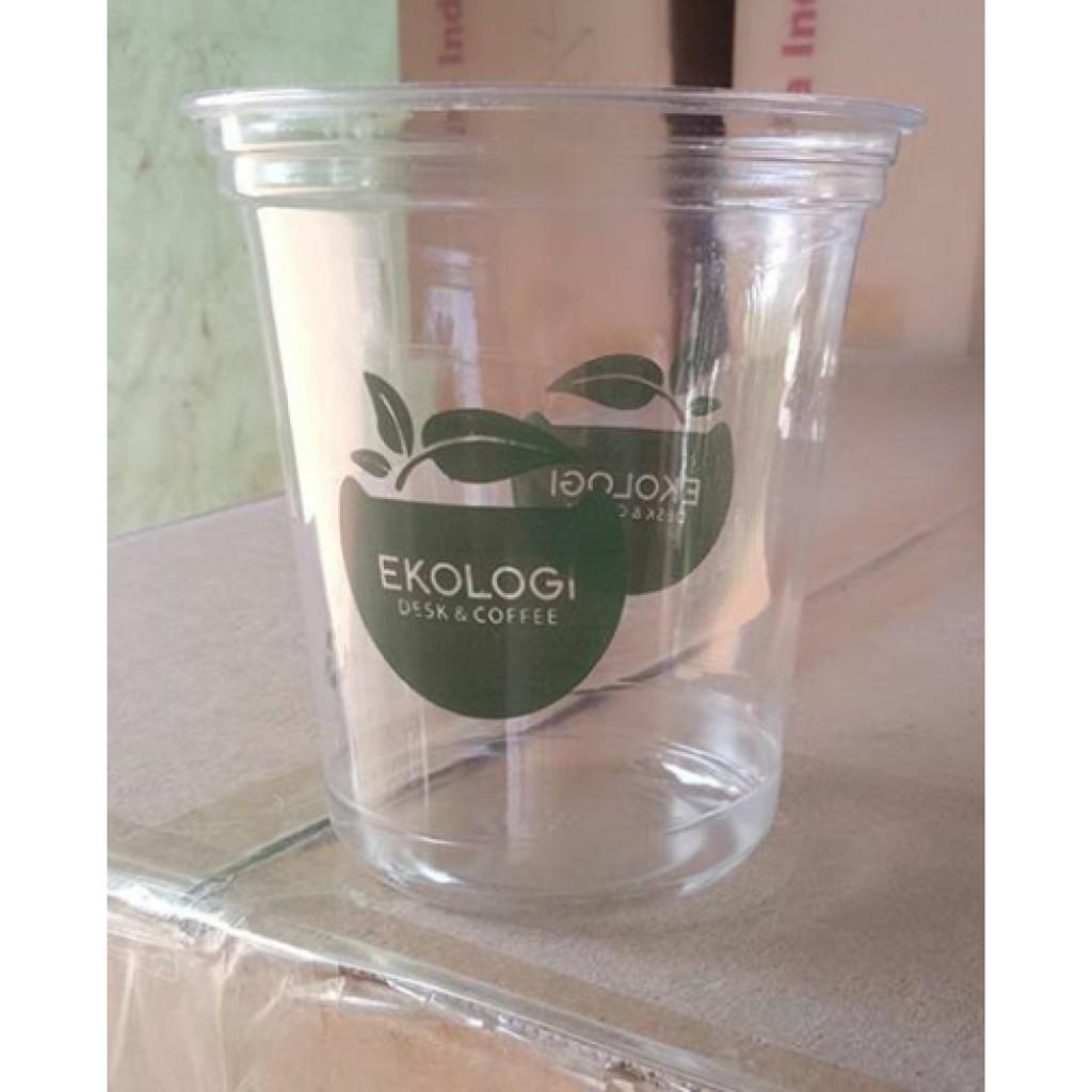 gelas plastik sablon surabaya