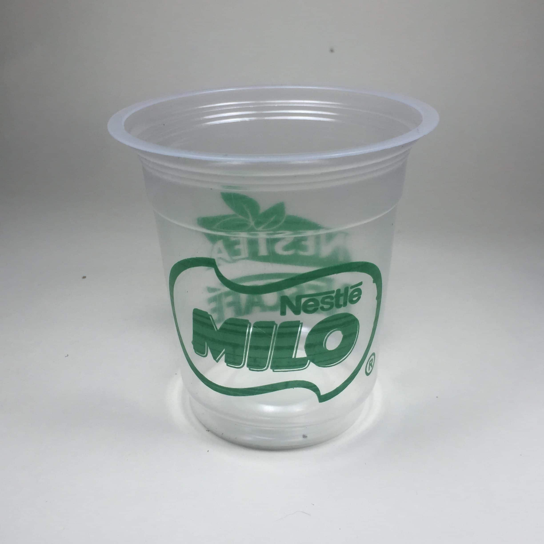 Sablon cup plastik